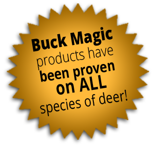 Starburst - Buck Magic products have been proven on ALL species of deer!