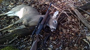 Whitetail Buck shot by Charles Miller