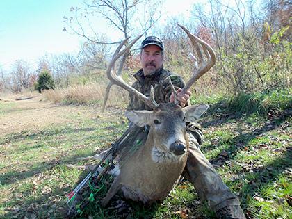Whitetail Buck harvested by Dave F.
