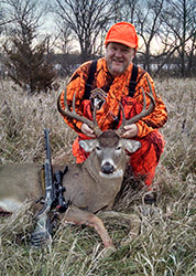 Whitetail Buck harvested by Dave P.