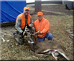 Buck shot during Muzzle Loader season